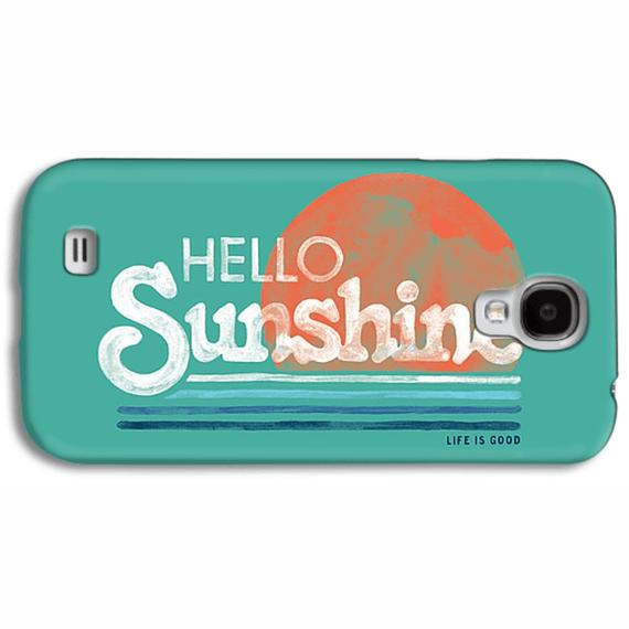 Hello Sunshine Stripe Phone Case