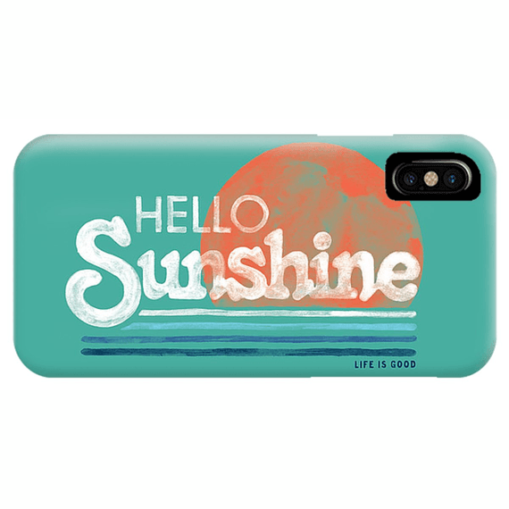 Hello Sunshine Stripe Phone Case