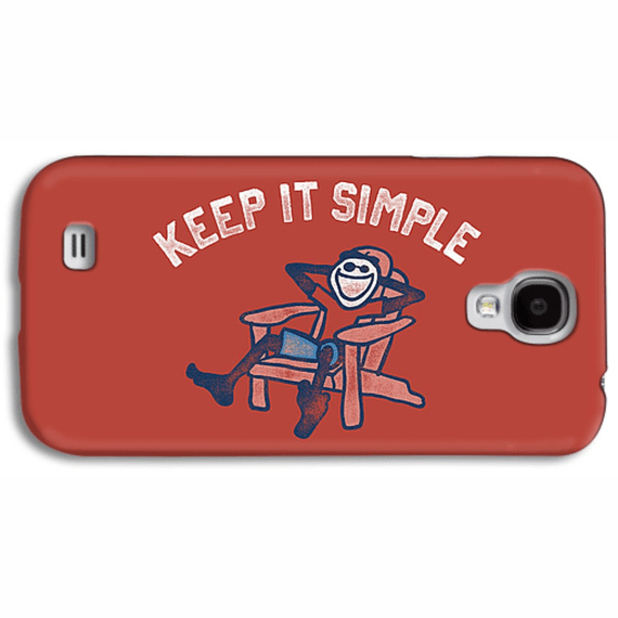 Keep It Simple Jake Adirondack Phone Case