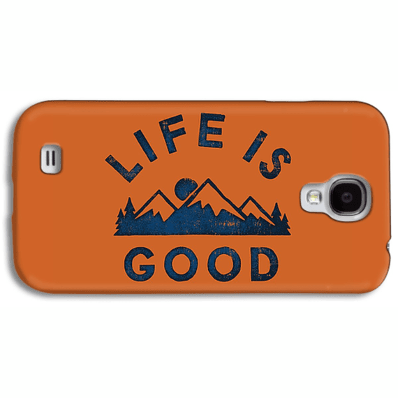 Life Is Good Mountains Phone Case