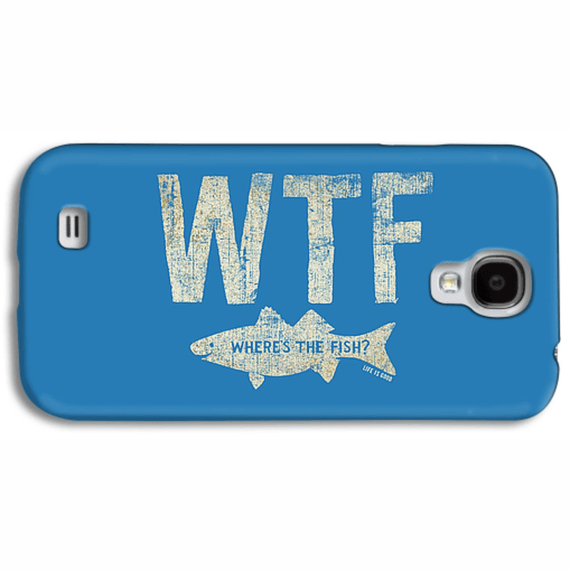 Wtf Fish Phone Case