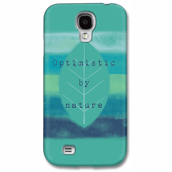 Optimistic By Nature Stripes Phone Case