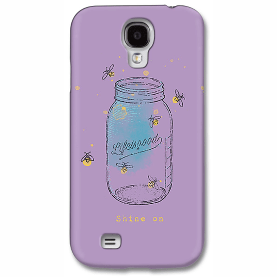 Engraved Glass Jar Phone Case