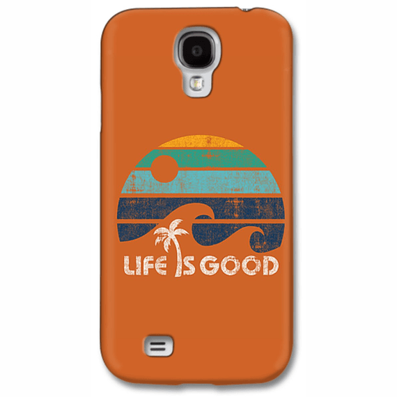 Life Is Good Wave Stripe Phone Case