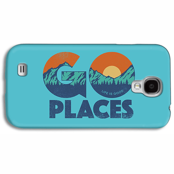 Go Places Mountain Scene Phone Case
