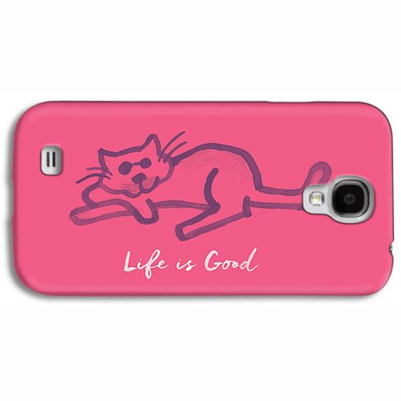 Life Is Good Cat Phone Case