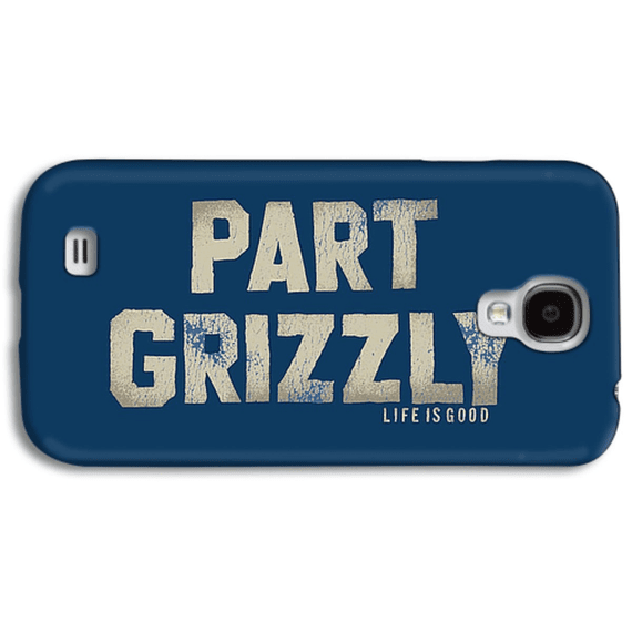 Part Grizzly Phone Case