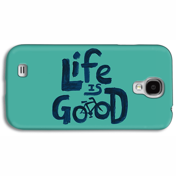 Life Is Good Bike Painted Phone Case