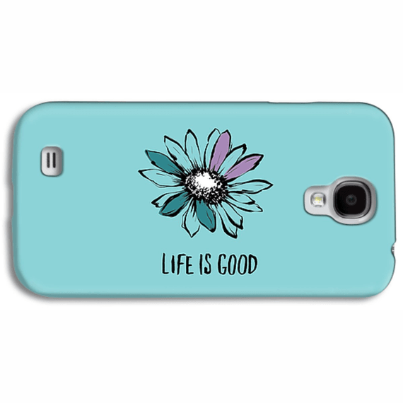 Life Is Good Flower Phone Case