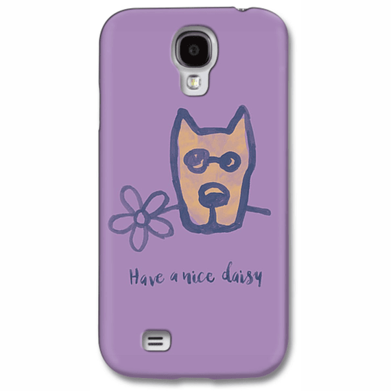 Rocket Have A Nice Daisy Phone Case