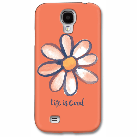 Daisy On Orange Phone Case