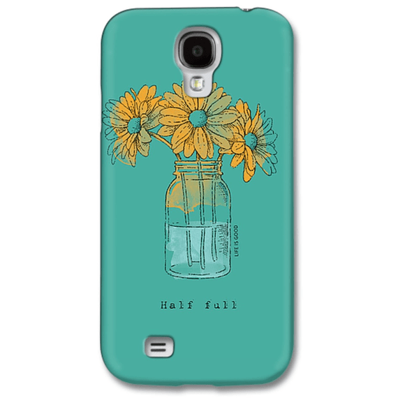 Daisy Jar Engraved Phone Case