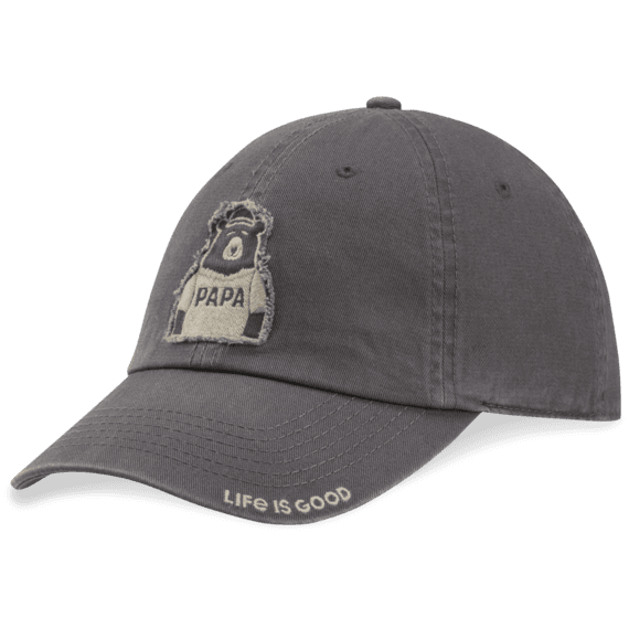Papa Bear Tattered Chill Cap