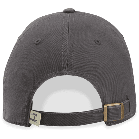 Life is Good Take It Slow Turtle SLATE GRAY Chill Cap