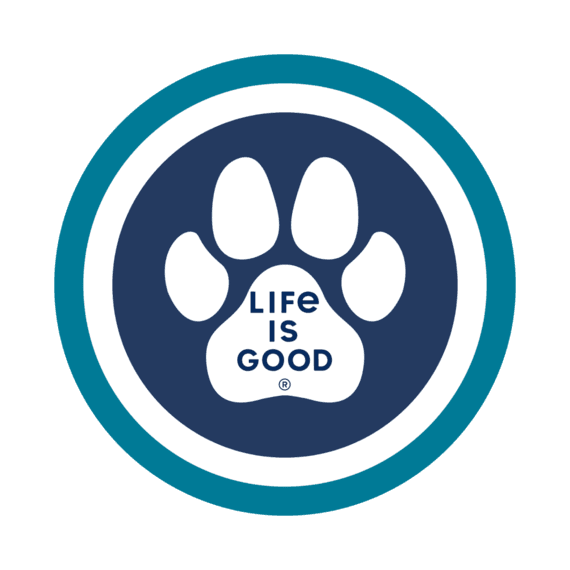 "Paw Coin 4"" Circle Sticker"