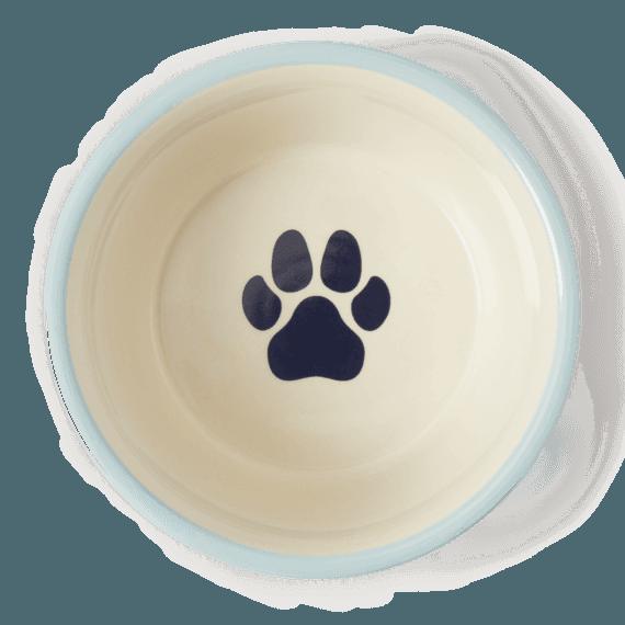 Paw Wag On Large Dog Bowl