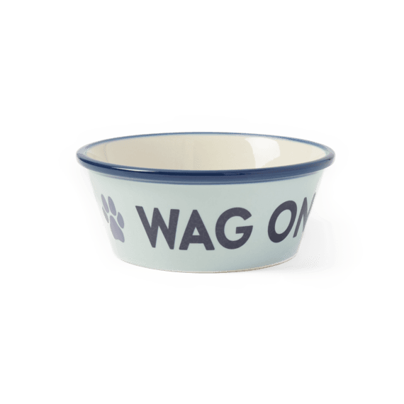 Paw Wag On Small Dog Bowl
