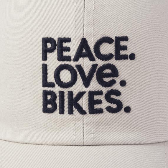 Peace Love Bikes Chill Cap
