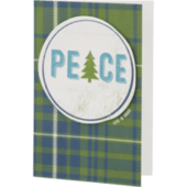 Peace Tree Holiday Card