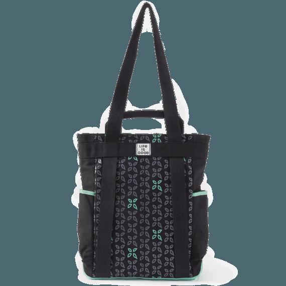 Petal Print Wayfarer Convertible Backpack