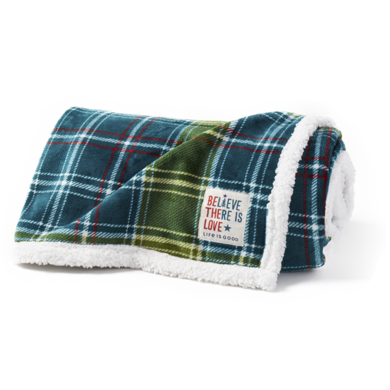 Plaid Cozy Throw Blanket
