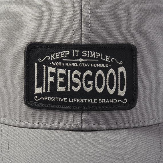 Positive Lifestyle Hard Mesh Back Cap