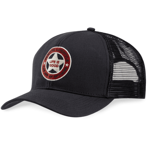 Positive Lifestyle Star Mesh Back Chill Cap