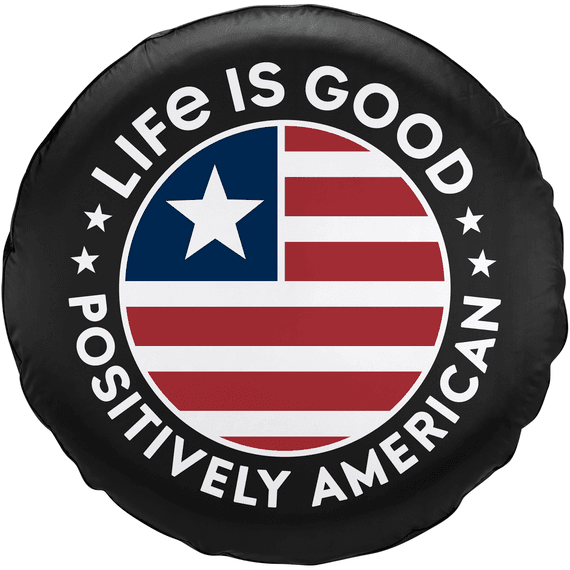 Positively American Coin Tire Cover