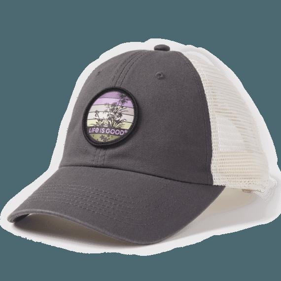 Retro Wildflower Soft Mesh Back Cap