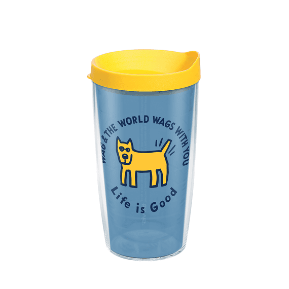 Rocket Wag With You Tervis Tumbler with Lid, 16oz