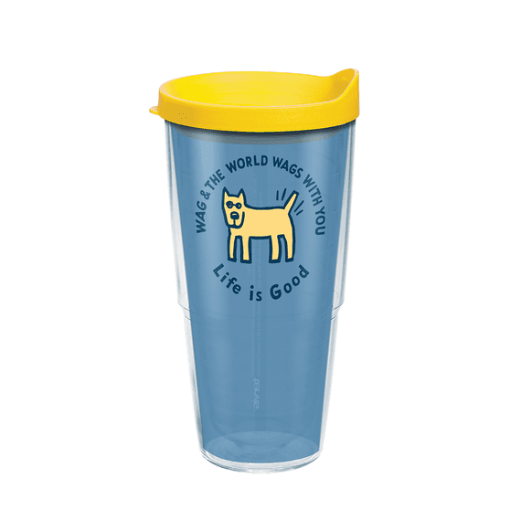 Rocket Wag With You Tervis Tumbler with Lid, 24oz