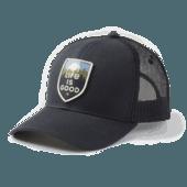 Scenic Crest Hard Mesh Back Cap