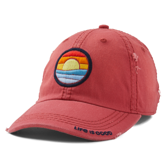 Seas the Day Sunset Sunwashed Chill Cap