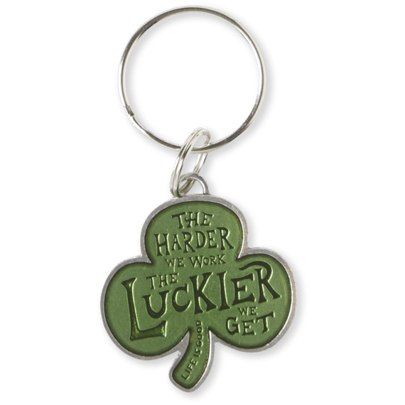 Shamrock Work Keeper Keyring