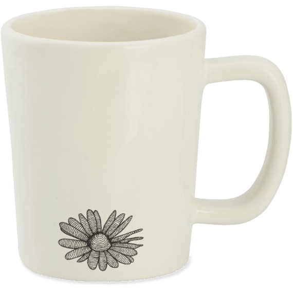 Simple Daisy Artisan Mug