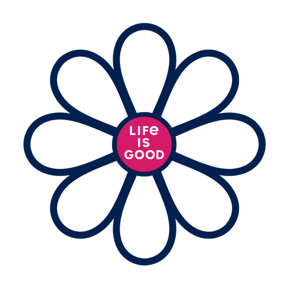 Simple Daisy Small Die Cut Decal