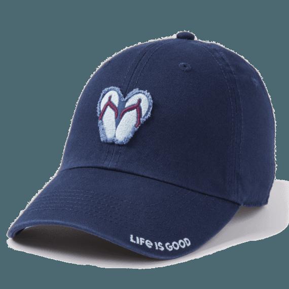 Simple Flip Flops Tattered Chill Cap
