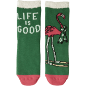 Skiing Flamingo Double Snuggle Sock