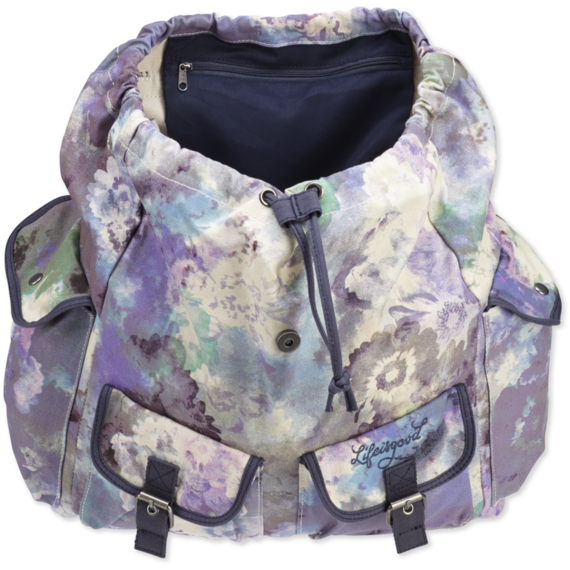 Slouchy Floral Backpack