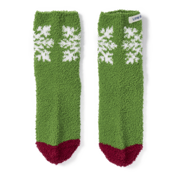 Snowflake Snuggle Socks