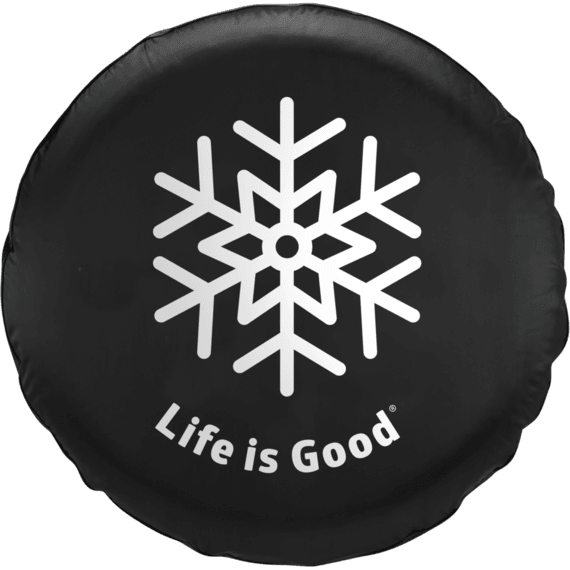 Snowflake Tire Cover