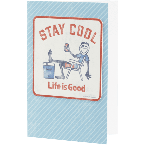Birthday cards life is good official website stay cool jake coaster card bookmarktalkfo Choice Image