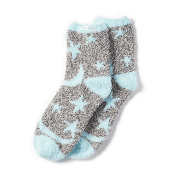 Starry Moons Snuggle Socks