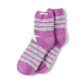 Starry Stripes Snuggle Socks