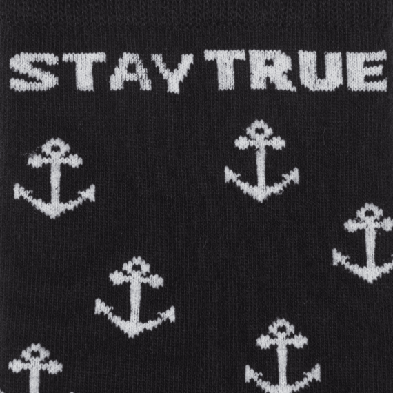 Stay True Anchor Men's Crew Socks