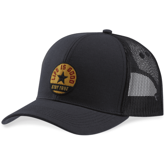 Stay True Star Patch Hard Mesh Back Cap