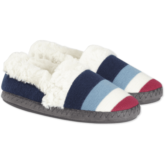 aa9b50c13c7 Images. Striped Do What You Love Slipper