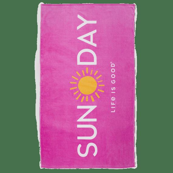 Sun Day Beach Towel