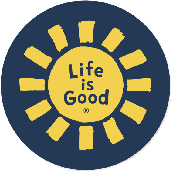 Sun LIG Circle Sticker
