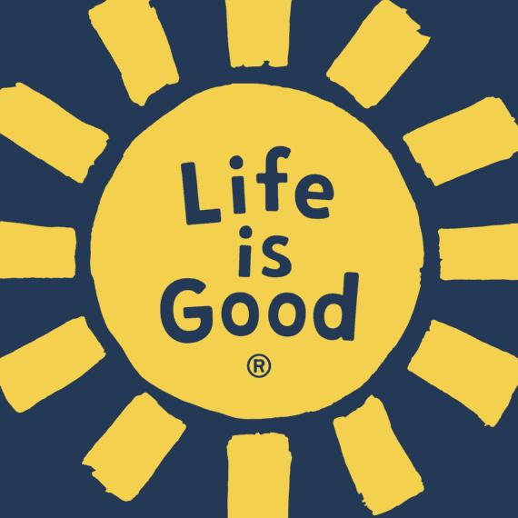 Sun LIG Circle Sticker